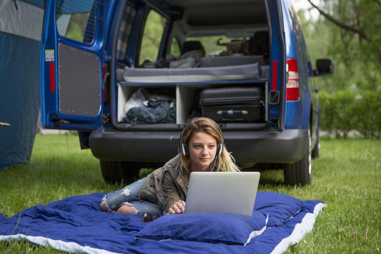 car power camping laptop