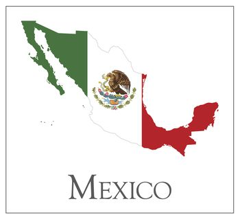 Mexico Map Flag Essentials