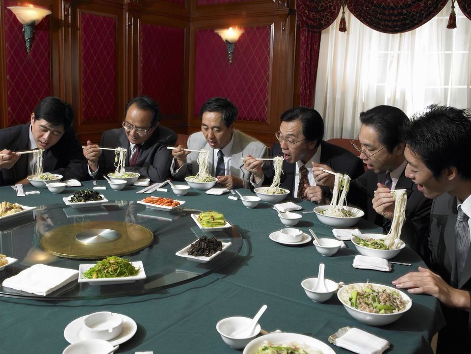 Chinese Banquette - Dining Etiquette