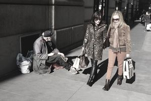 shoppers-homeless trickledown