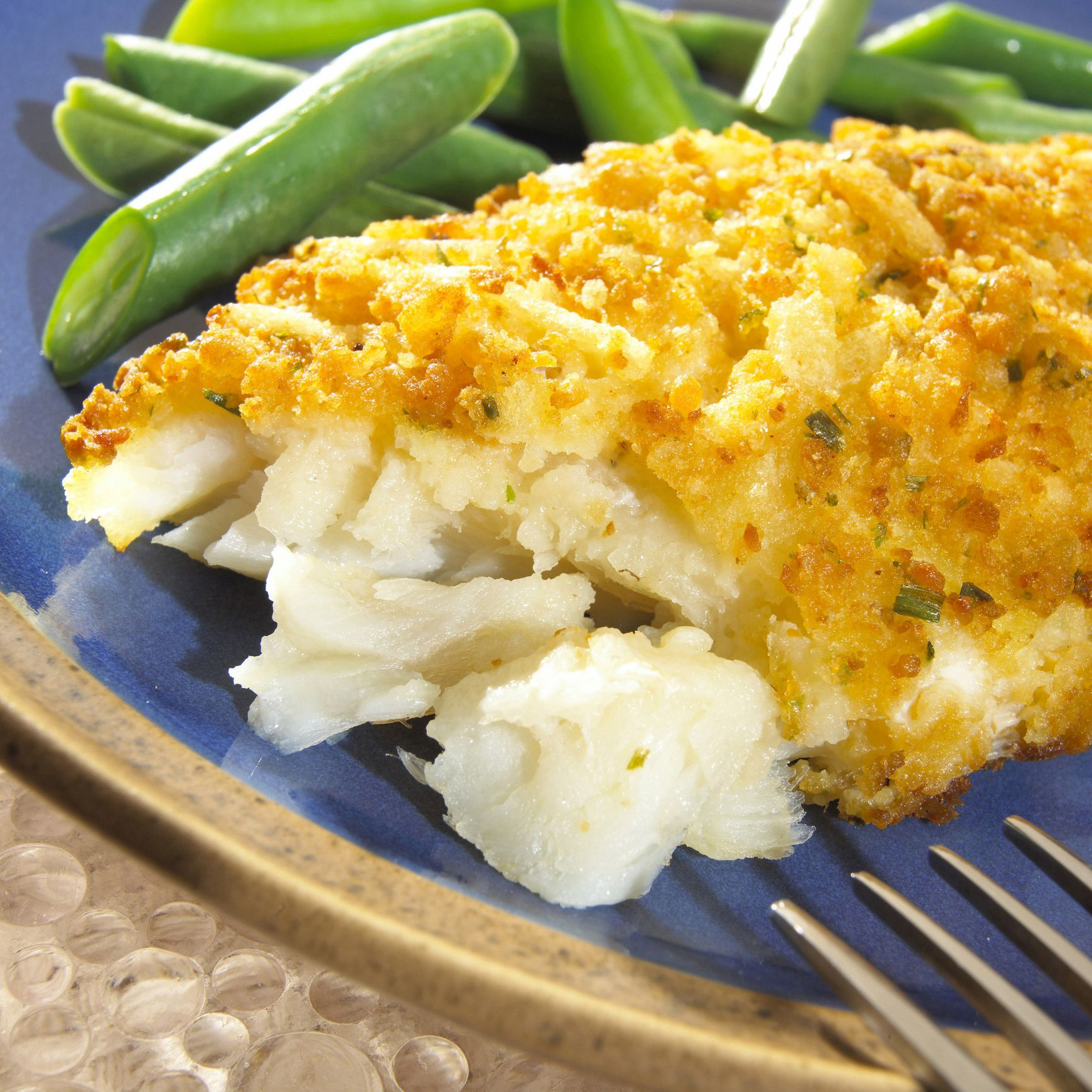Baked cod recipe with cornflake crust for Baked cod fish recipes