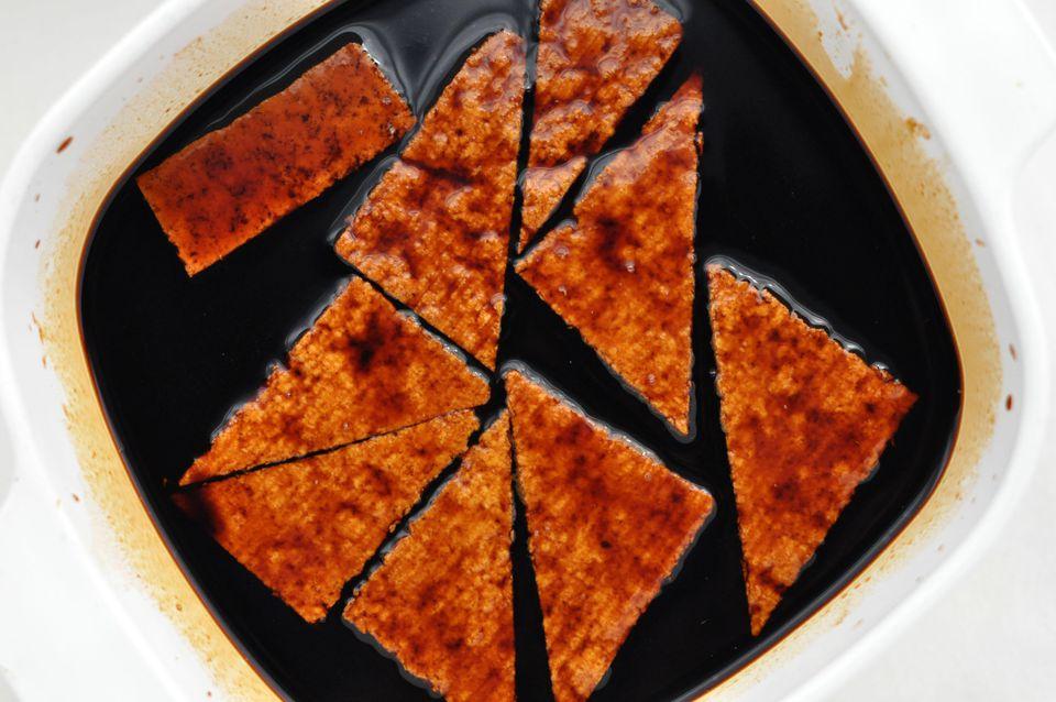 Tofu braising