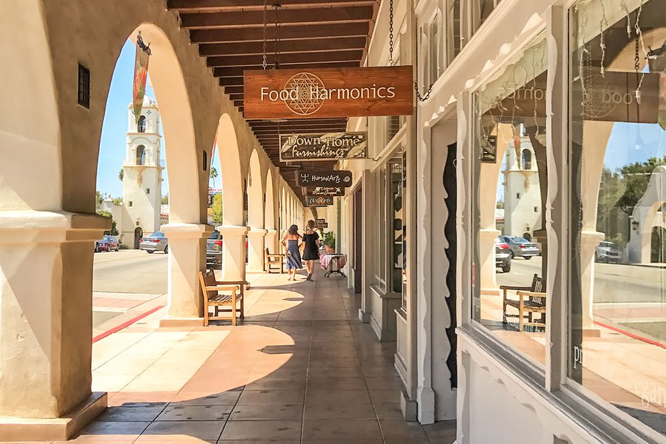 Shopping in Downtown Ojai