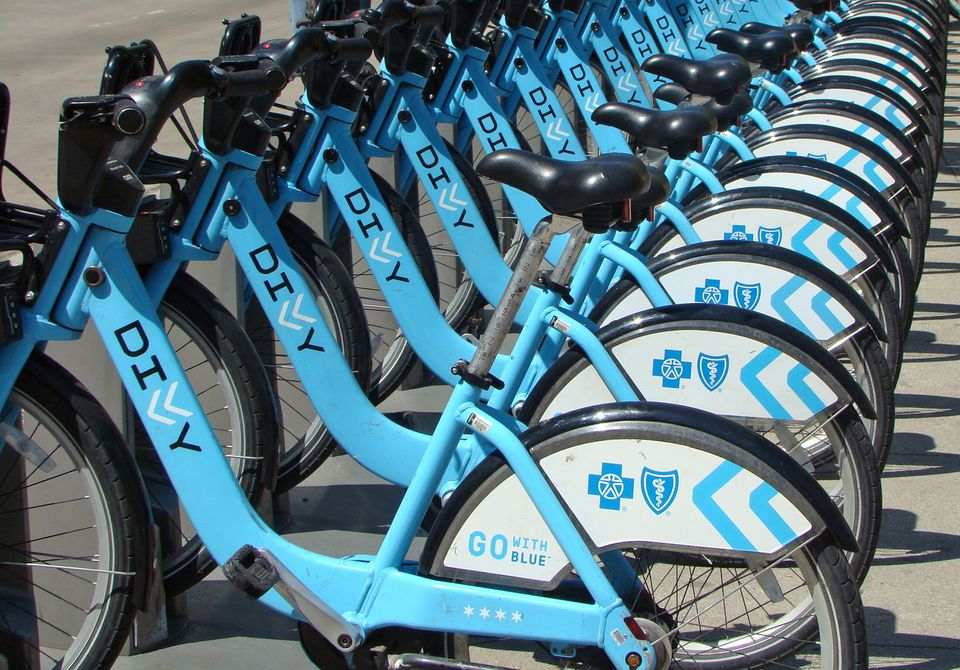 Renting a bike is a nice way to see Chicago without spending a lot of money.
