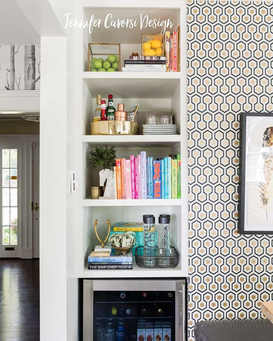 Kitchen Design Book: 10 Stylish Ways To Display Cookbooks In The Kitchen