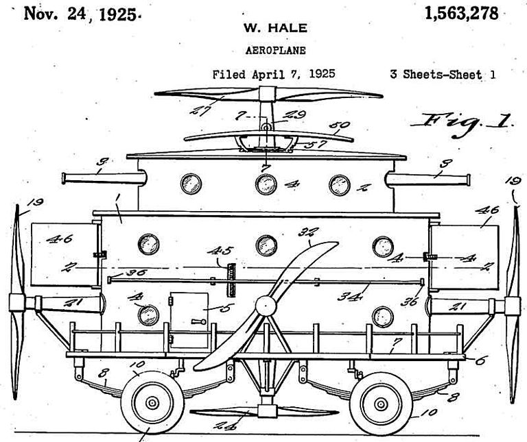 William Hale - Aeroplane