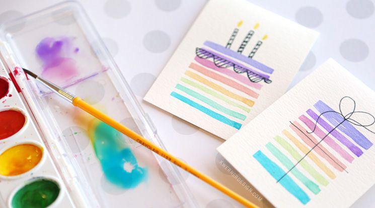 25 of the best diy birthday cards easy diy birthday cards using minimal supplies bookmarktalkfo Choice Image