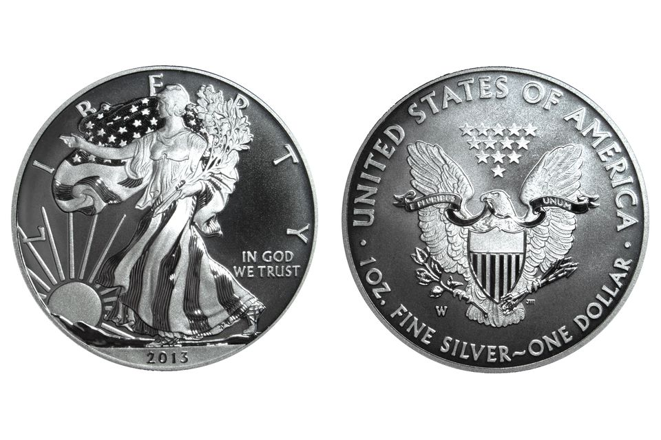 2013 Enhanced Uncirculated American Silver Eagle Bullion Coin