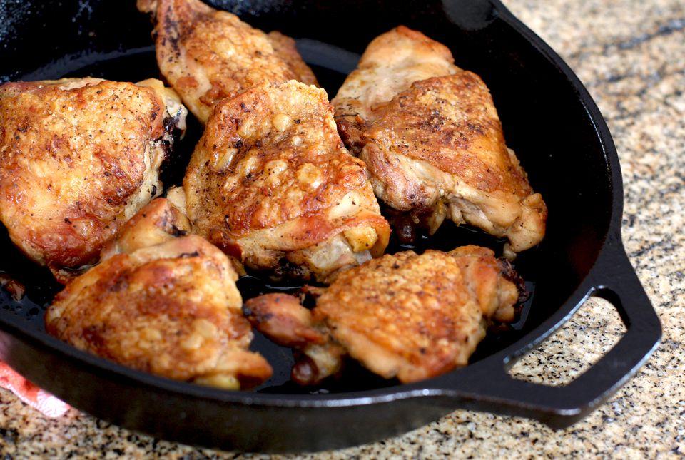Crispy-Skinned Chicken