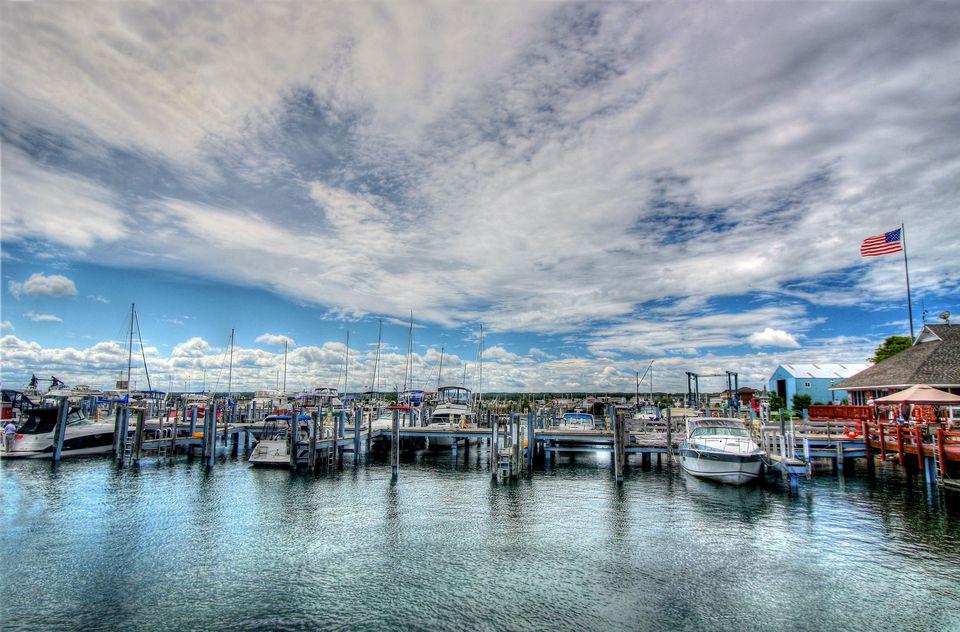 Mackinac city Marina