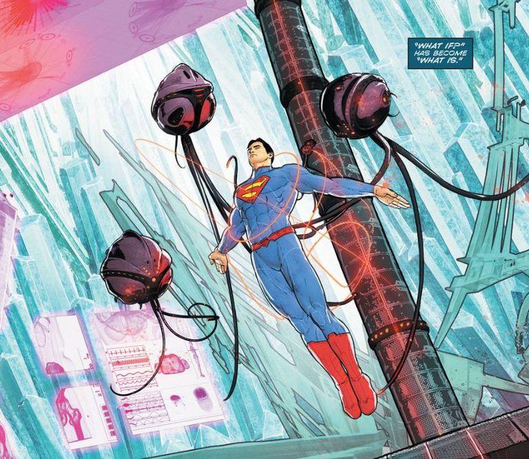 Comic panel of Superman #51
