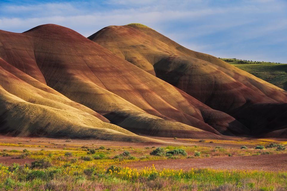Painted Hills, John Day Fossil Beds National Monument, Oregon, USA