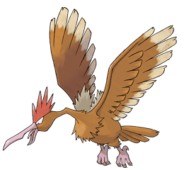 Fearow - Ken Sugimori's Official Artwork