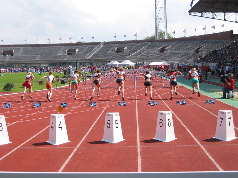 Campeonato de Holanda de 2007, Ámsterdam, los 100 metros vallas.