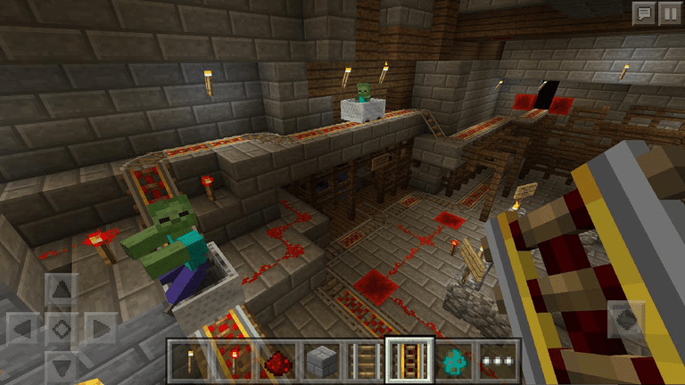 http://mojang.com/2015/11/pocket-and-windows-10-edition-gets-redstone-bunnies-more-doors/