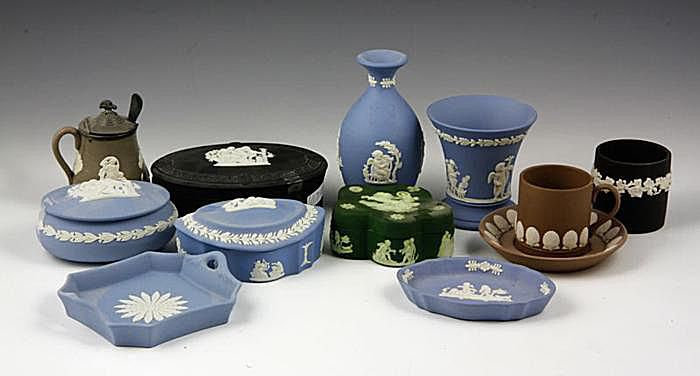 Wedgwood Jasperware in Various Colors
