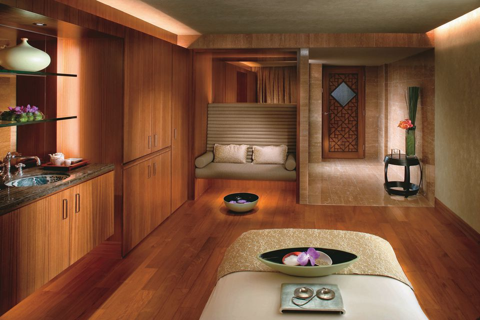 Spa at the Mandarian Oriental Hotel
