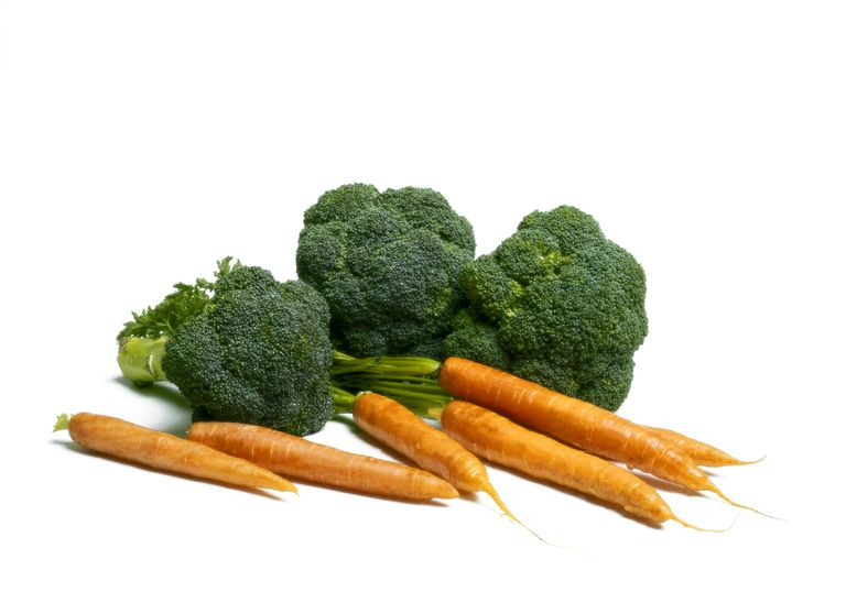 Carrots and broccoli are high in vitamin A necessary for normal vision and healthy cells.