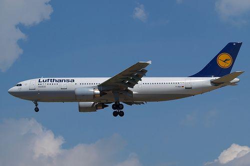 Lufthansa Plane, Germany