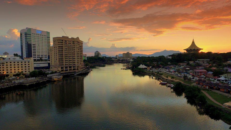 Kuching in Sarawak, Borneo