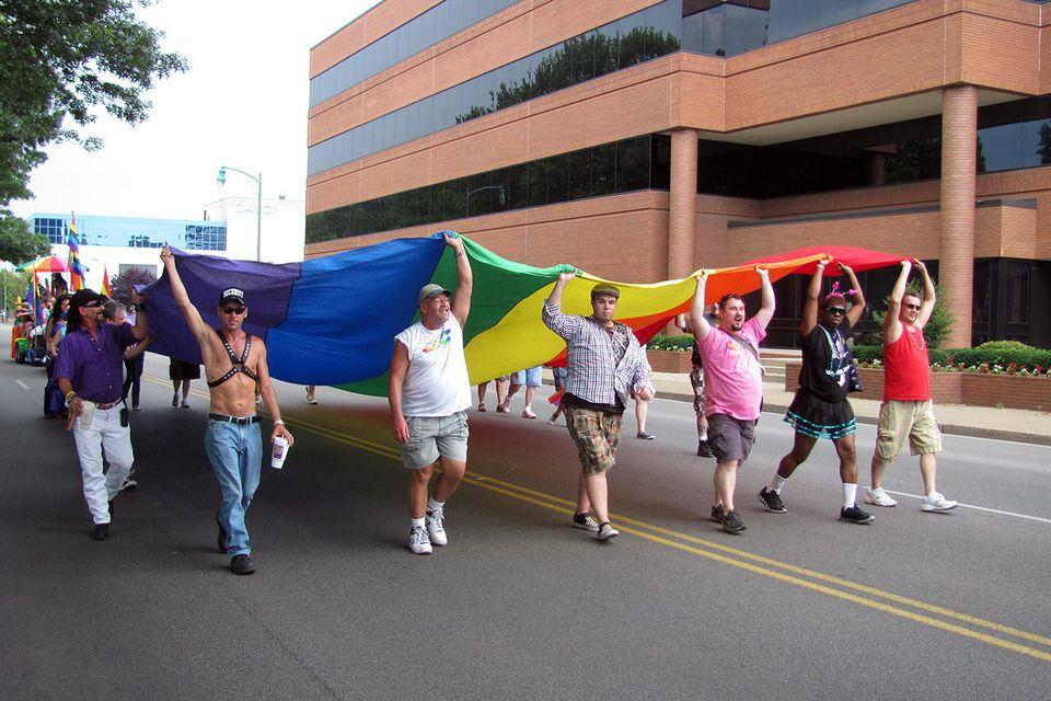 WV Pride Parade in Charleston, WV