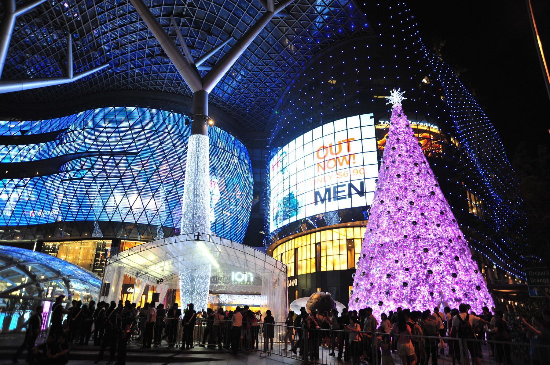Singapore Christmas Light Ups On Orchard Road