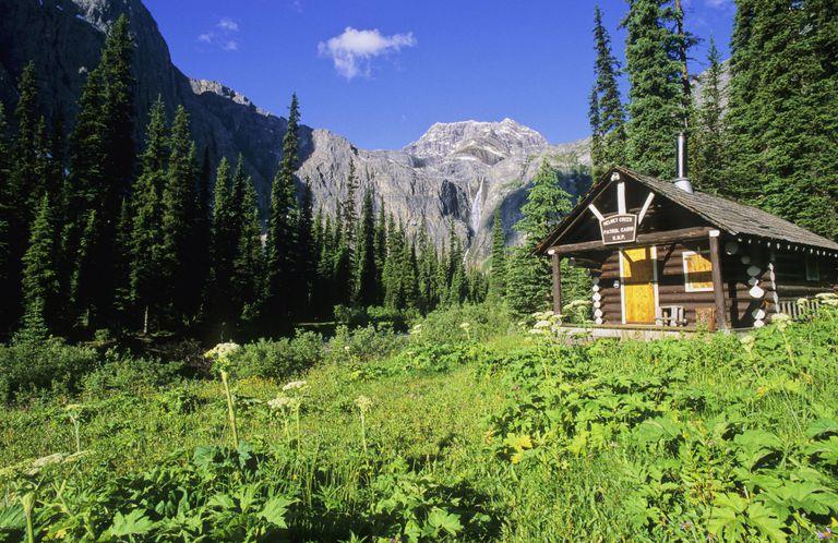 Mount Drysdale and Rockwall Pass, Kootenay