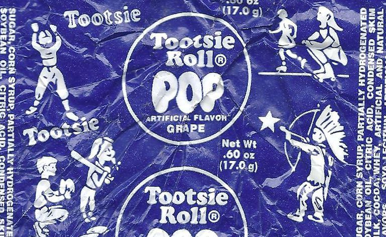 Tootsie Pop Indian Wrapper