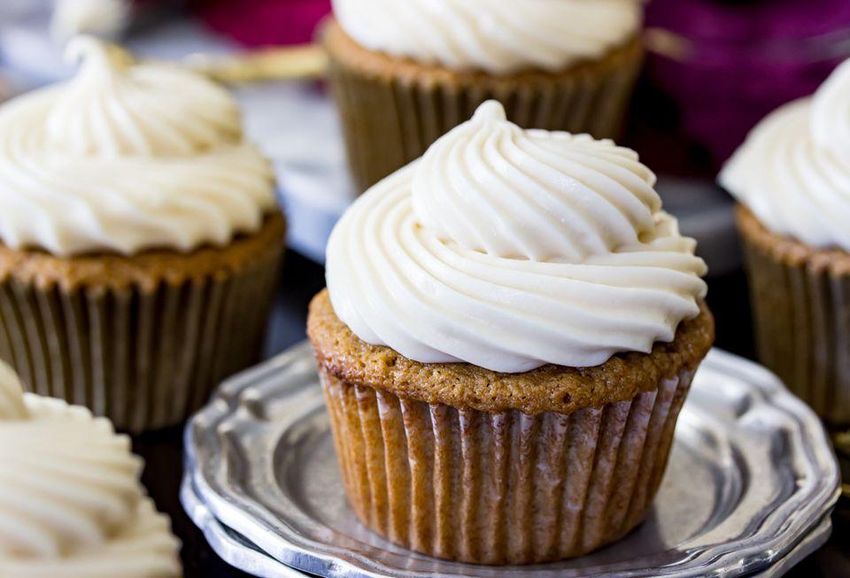 Maple Brown Sugar Cupcakes