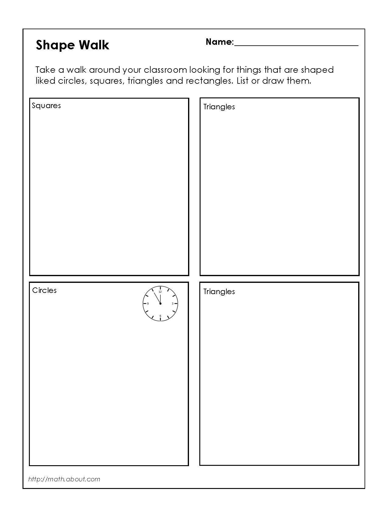 Worksheet Two Dimensional Shapes Worksheets Worksheet Fun