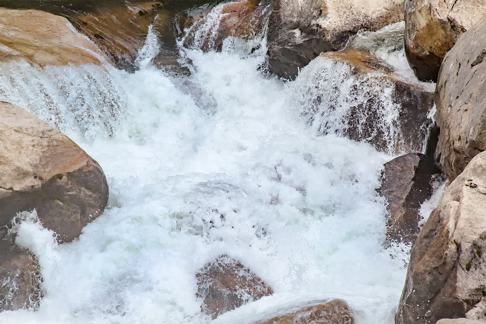 Water is Abundant in Yosemite in the Spring
