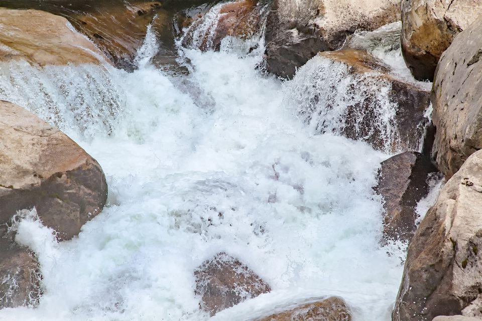 Water is Abundant in Yosemite in the Spring
