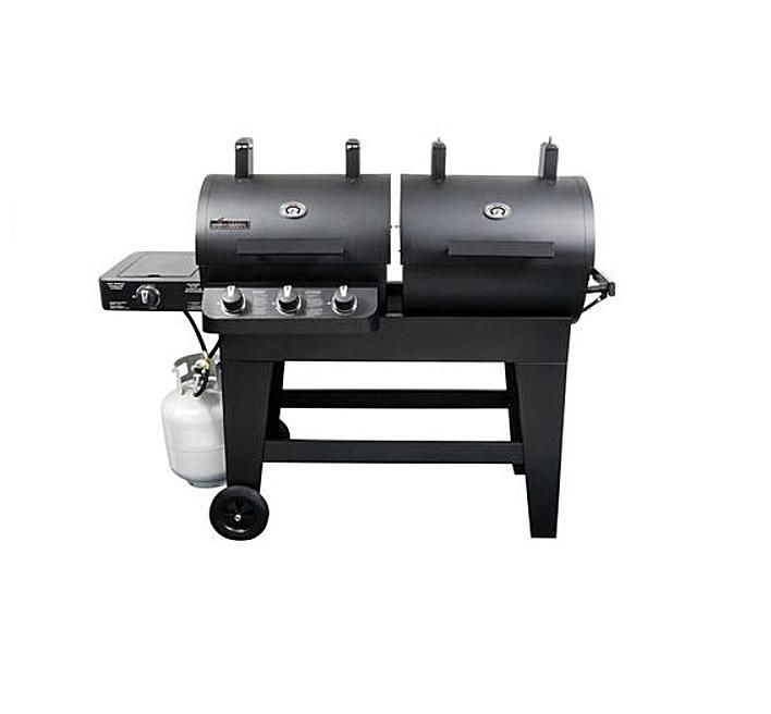 Brinkmann Dual Zone Charcoal Gas Grill Model # 810-3820-S