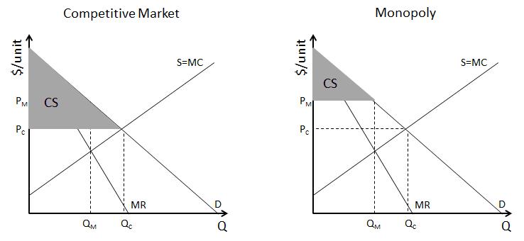 the economic inefficiency of monopoly