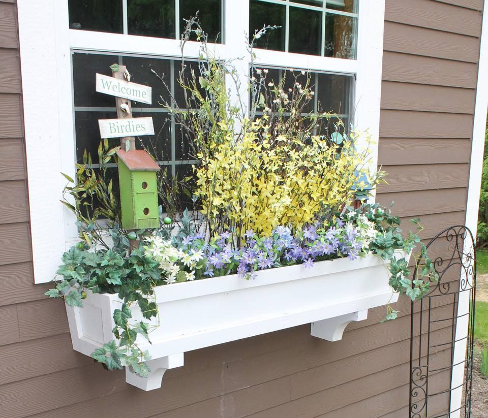 Window Box Planter Ideas: 10 DIY Window Box Ideas