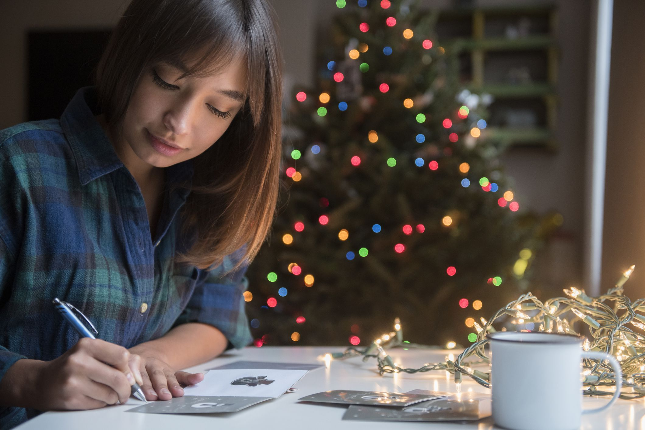How to Choose Address and Sign Business Christmas Cards