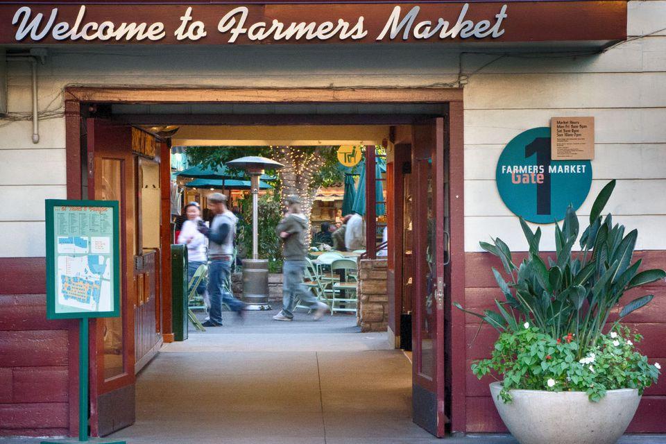 Entrance to the LA Farmers Market