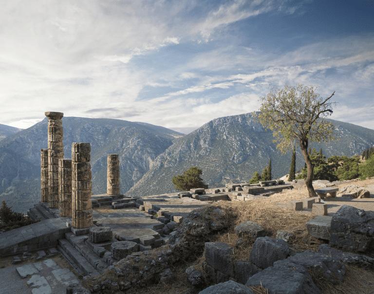 Ruins of Delphi, Greece