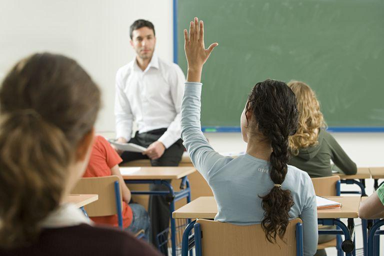 Estudiantes en la escuela