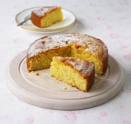Microwave Lemon Drizzle Cake