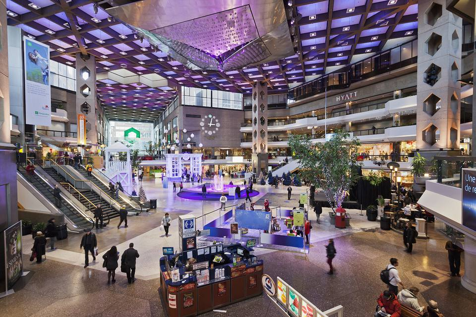 Montreal's Complexe Desjardins is a high-traffic building for a reason.