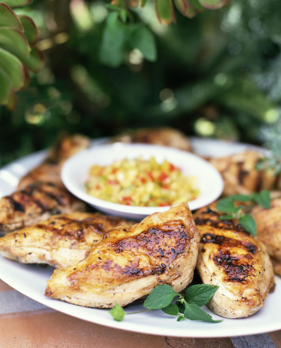 Grilled Citrus and Tamarind Chicken Breasts