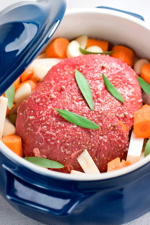Pot Roast & Root Vegetables