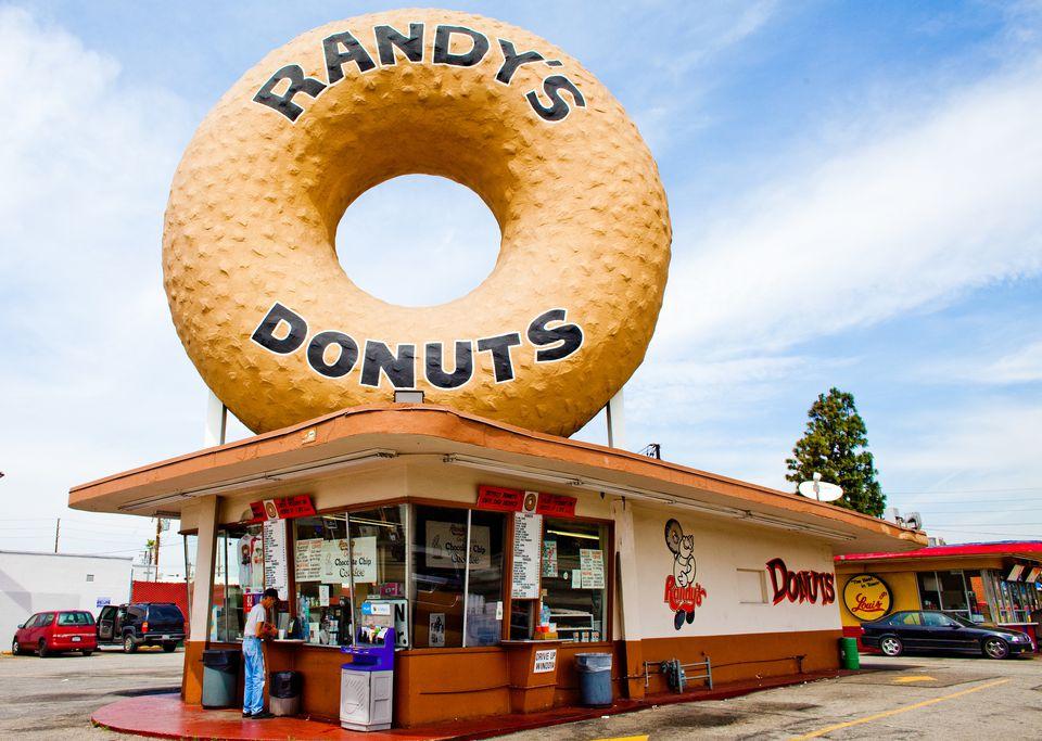 Randy's Donuts in Los Angeles