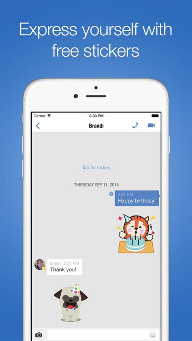 iphone messaging app imo instant messaging iphone app review 12035
