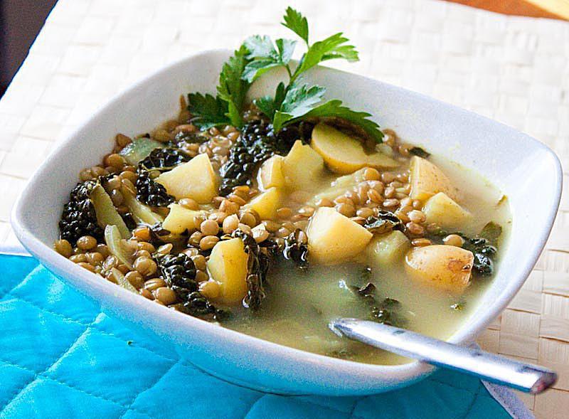Mediterranean Kitchen Lentil Soup Recipe
