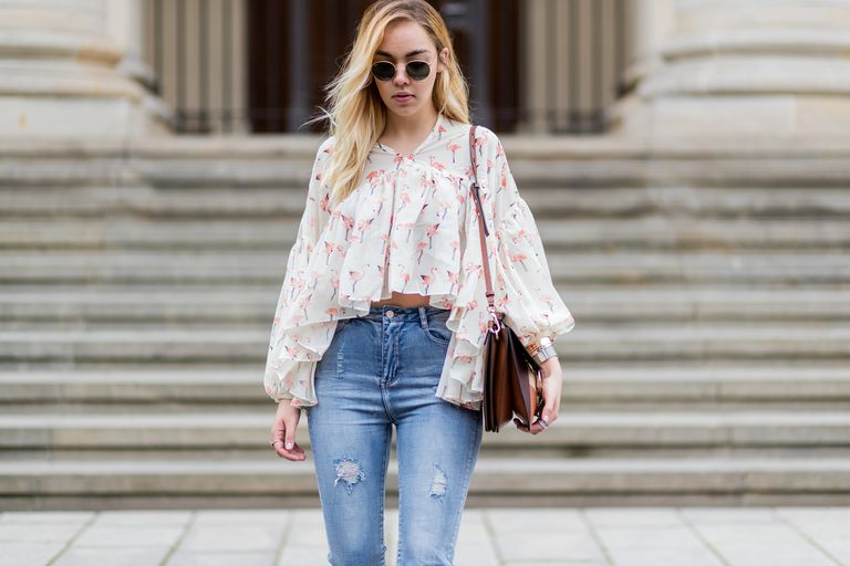 High Waisted Jeans Outfits for Every Body Type
