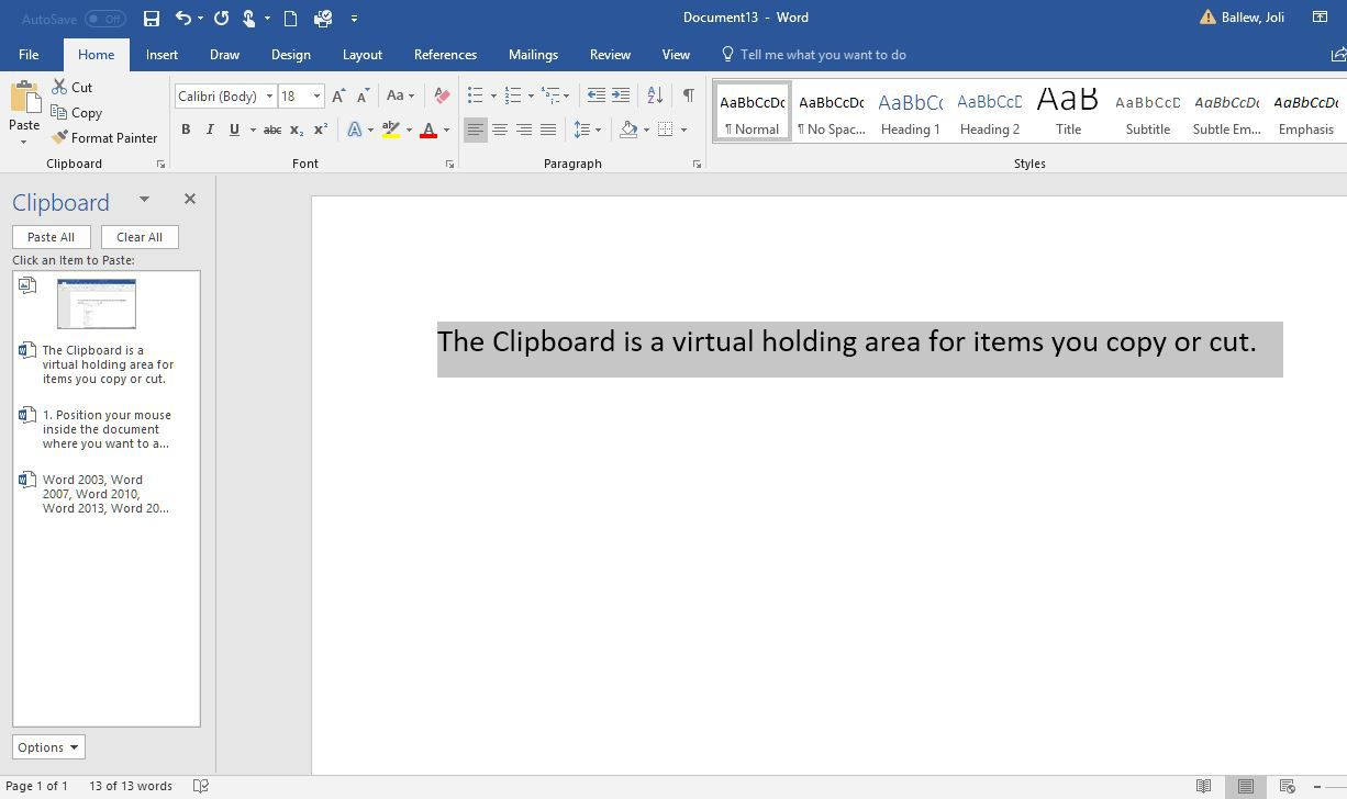 How to cut copy and paste in microsoft word buycottarizona Image collections