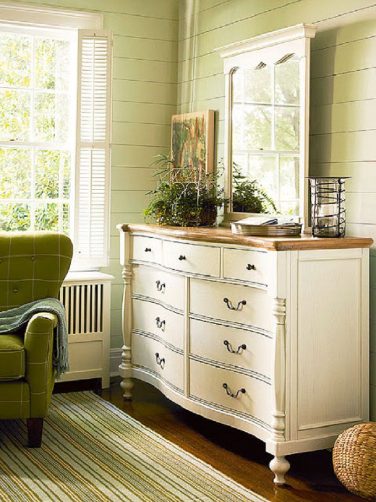 100 dream bedroom decorating ideas and tips - Dresser for small room ...