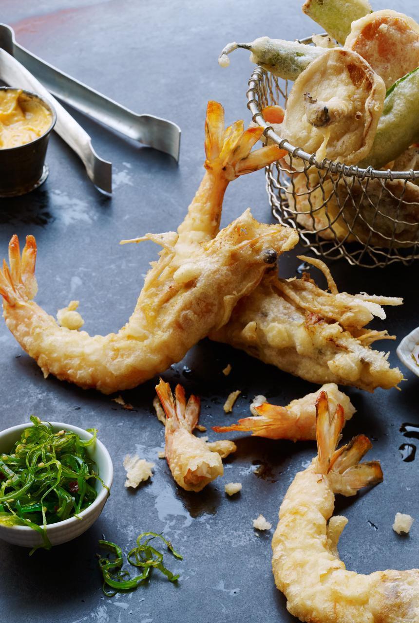 Tempura Shrimp Recipe For Rice Or Noodles